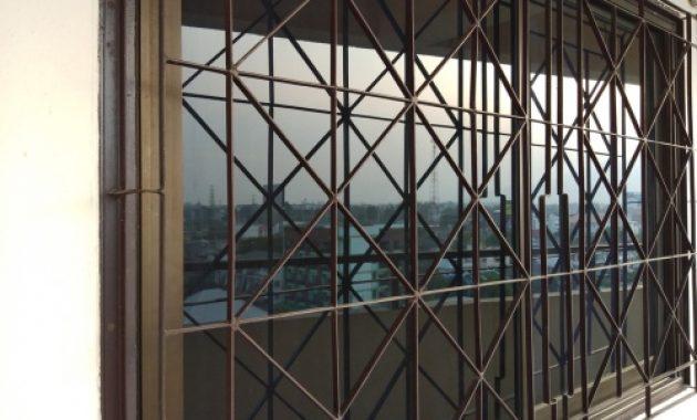 model teralis jendela kamar tidur minimalis